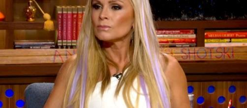 Tamra Judge gets slammed by her daughter, Sidney - Image via WWHL/Bravo - YouTube screencap