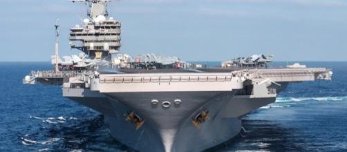 The power of a fleet the aircraft carrier.https://pixabay.com/en/ship-aircraft-carrier-us-navy-540683/