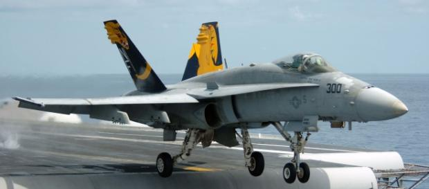 F-18A takes off (United States Navy)