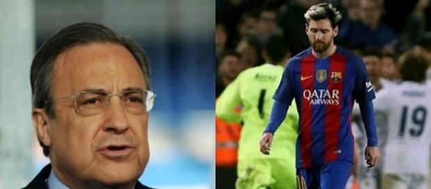 Florentino Perez: ''Messi no tiene buena sintonía con Luis Enrique ... - diez.hn