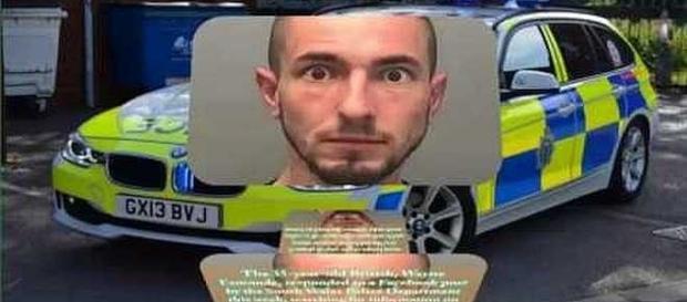 Man didn't like mugshot posted on Facebook [Image: Serendipity Me/YouTube screenshot]