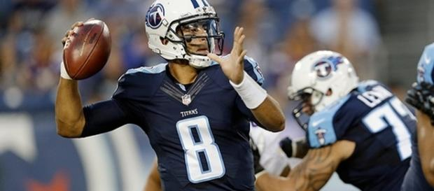 Marcus Mariota could be a great sleper pick for fantasy football players. [Imave via Vimeo]