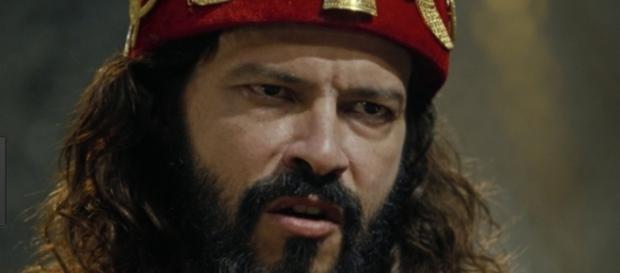 Nabucodonosor fica louco na novela (Foto: Reprodução/RecordTV)