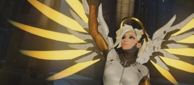Overwatch Mercy Summer Games 2017 (Image - Overwatch/YouTube Screenshot)