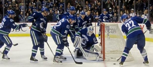 Vancouver Canucks of the NHL (Wikimedia Commons - wikimedia.org)
