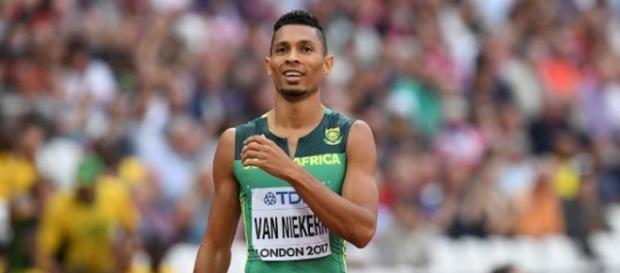 """Wayde Van Niekerk punta a diventare il primo uomo al mondo a scendere sotto i 43"""" nei 400 metri"""