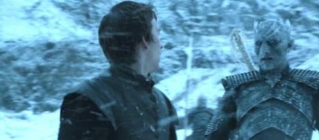 Bran Stark y el Rey de la Noche.