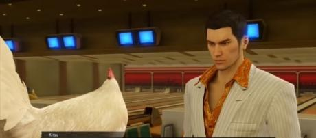 "Check out my manly review of SEGA's ""Yakuza 0"" - YouTube/PlayStation"