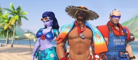 'Overwatch' Summer Games 2017 skins secret details discovered(FantasticalGamer/YouTube Screenshot)