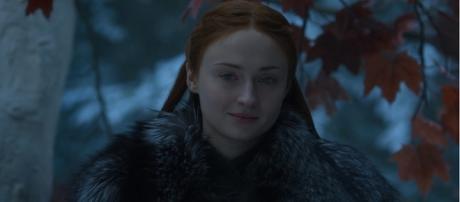 Sansa in the Godswood of Winterfell. Screencap: Ravenbreath via YouTube