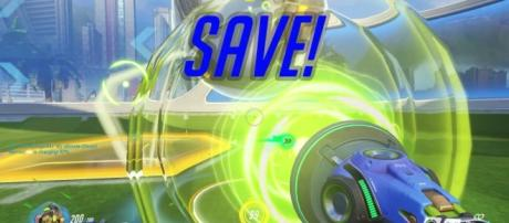 Take part in the competitive 'Overwatch' Lucioball mode. (image source: YouTube/davidangel64)