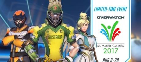 The 'Overwatch' Summer Games 2017 comes with a ton of skins. (image source: YouTube/PlayOverwatch)