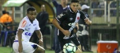 Vasco da Gama - Derrota para o Cruzeiro