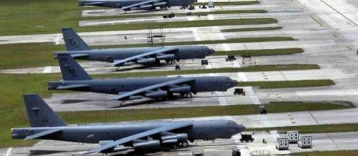 Air Force fighters, bombers, tankers at Andersen Air Force Base, Guam (credit – wikimediacommons)