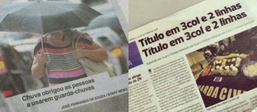 As notícias mais ''sem noção'' do jornalismo brasileiro. Foto: Reprodução/Twitter.