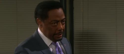 Days of our Lives Abe Carver. (Image via YouTube screengrab)