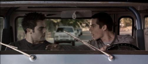 Derek (Tyler Hoechlin) and Stiles (Dylan O'Brien) for 'Teen Wolf'/Photo via screencap, 'Teen Wolf'/MTV
