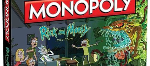 Details about New Monopoly Rick and Morty Edition Adult Swim TV ... - pinterest.com
