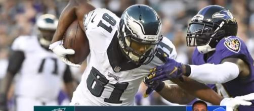 Eagles trade Jordan Matthews to the Bills - (Image credit: YouTube/CBS Sports)