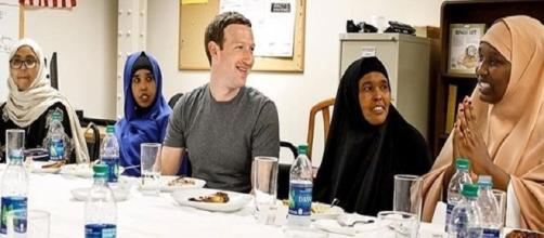 Facebook founder Mark Zuckerberg with some Somali refugees / Phot via Mark Zuckerberg , Instagram