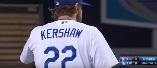 LA Dodgers rumors: Clayton Kershaw healthy, ready to return to mound? - youtube screen capture / MLB