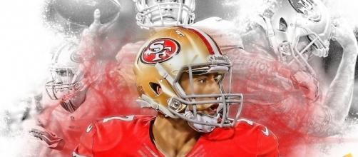 Photo of Kaepernick by Shea Huening via Flickr.