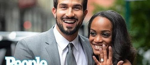 Rachel Lindsay and Bryan Abasolo are engaged [Image: People/YouTube screenshot]