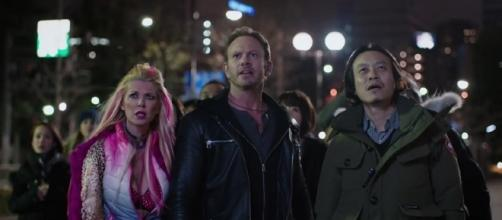Sharknado 5 slips in the ratings but delivers on the fun aspect of the franchise. source: SyFy/youtube