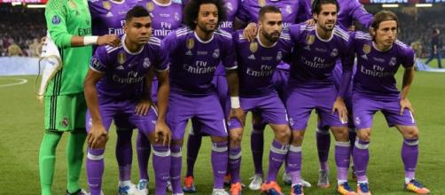 Supercoppa europea: Real Madrid batte Manchester United 2-1.