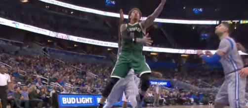 The NY Knicks signed veteran Michael Beasley to a one-year deal worth just over $2 million. [Image via NBA/YouTube]