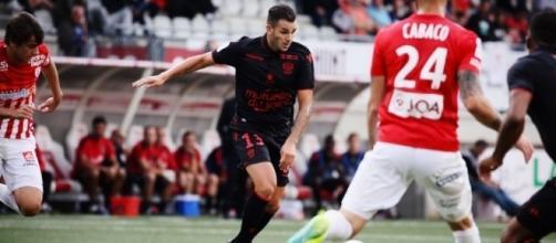 Valentin Eysseric sous les couleurs de l'OGC Nice - (crédit: http://www.ogcnice.com)