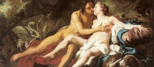 Venus And Adonis-Jean Francois de Troy