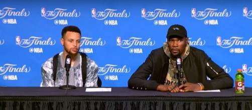 Who is more important to the Warriors? Curry or Durant? - (Image credit: YouTube/Ximo Pierto Official)