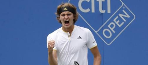 Zverev defeated Anderson at Citi Open final / [Image source: Youtube Screen grab]