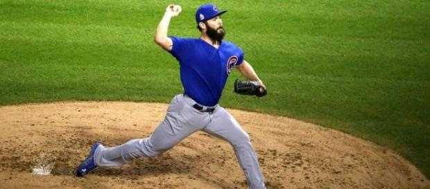 Arrieta in action, Wikipedia https://en.wikipedia.org/wiki/Jake_Arrieta
