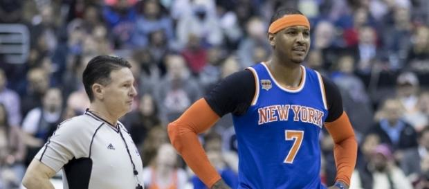 Carmelo Anthony doesn't want to join the New Orleans Pelicans - image source: Keith Allison/Flickr - flickr.com