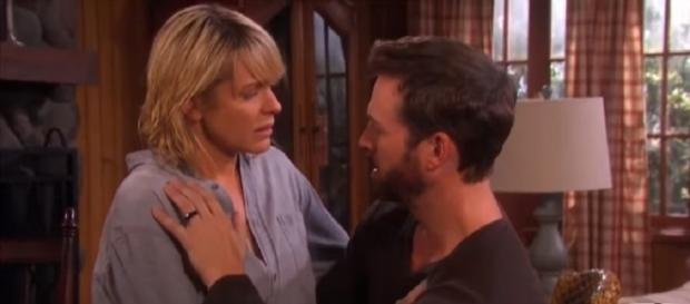 Days of our Lives Brady and Nicole. (Image via YouTube screengrab)