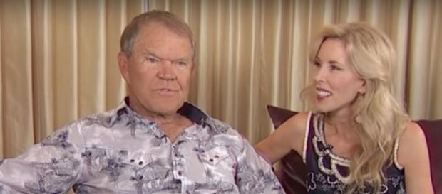 Glen Campbell during an interview. Image[Access Hollywood-YouTube]