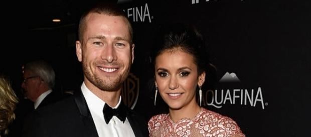 """Glen Powell could possibly be Nina Dobrev's main reason why she is not joining """"The Originals"""" anymore. Photo by E! News/YouTube Screenshot"""