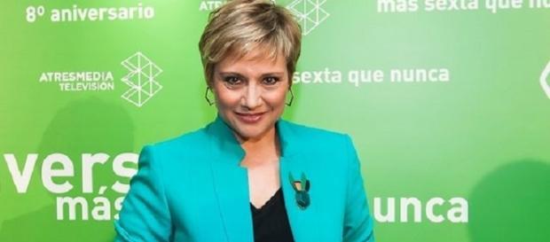 """Gloria Serra, presentadora de """"Equipo de Investigación"""""""