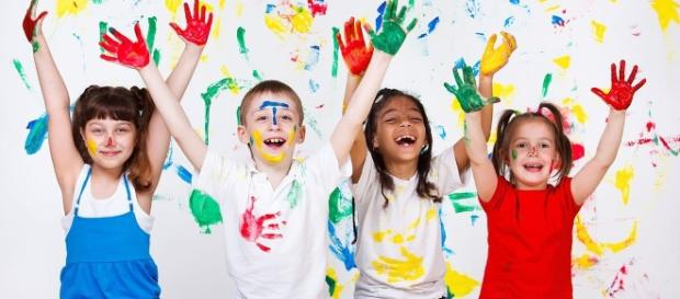 Happy kids - Ancal84 via Wikimedia Commons