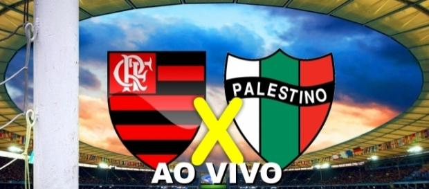 O Flamengo é o favorito na partida contra o Palestino