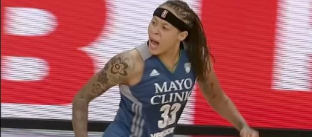 Seimone Augustus and the Minnesota Lynx captured an 81-72 win over Atlanta on Tuesday night. [Image via WNBA/YouTube]