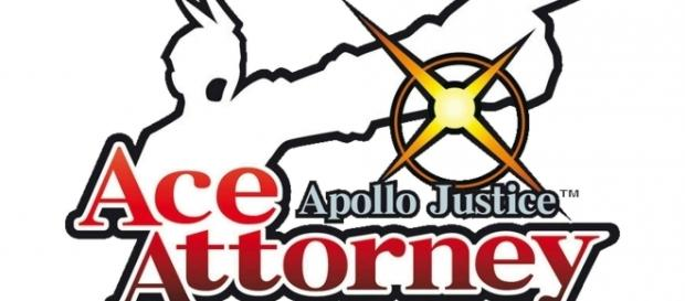 The logo of 'Apollo Justice: Ace Attorney.' (image source: YouTube/BrawlBRSTMs3 X)