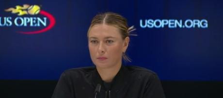 2017 US Open: Maria Sharapova R2 press conference - Image- US Open Tennis Championships  YouTube