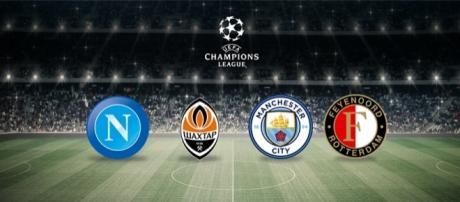 Calendario partite del Napoli in Champions League