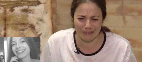 Dor e desespero são o que restou para mãe de Tamires. (Foto Internet)