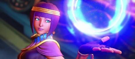 Menat from 'Street Fighter V' (image source: YouTube/Street Fighter)