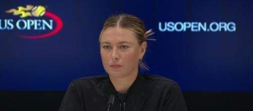 2017 US Open: Maria Sharapova R2 press conference - Image- US Open Tennis Championships| YouTube