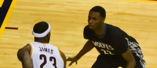 Andrew Wiggins (Image Credit - Eric Drost/Wikimedia)